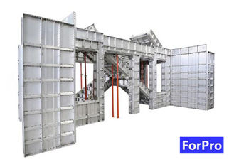 Easily Assembled Construction Building Aluminum Formwork Good Stability and High Bearing Capacity