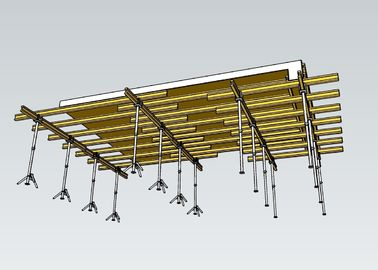 Highly Efficient Concrete Slab Formwork Systems Easy Operation For Floor Slab
