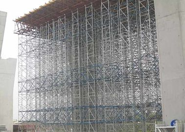 Shoring Tower Construction Scaffolding For Highway Bridge And Tunnel Project