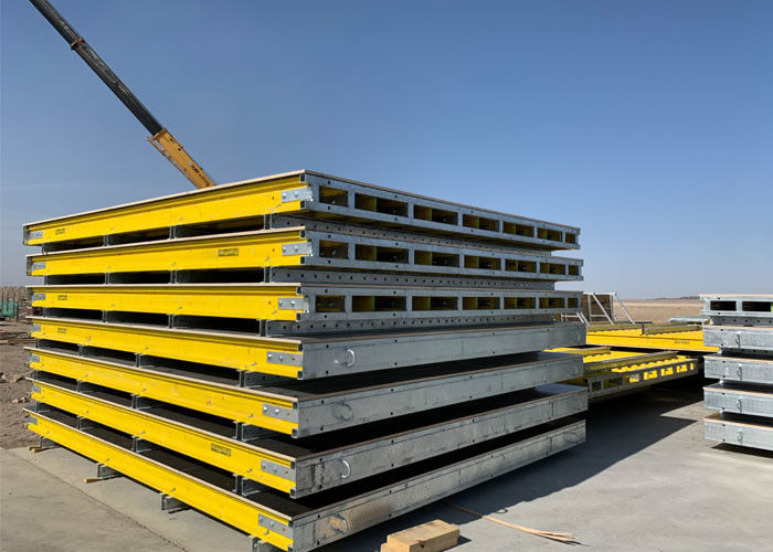 High Rigidity Concrete Wall Forming Systems For Nuclear Project