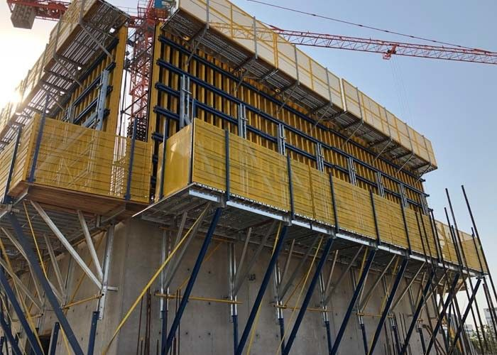 Easy Assembling Wall Formwork System With Easy Handle H20 Timber Beam