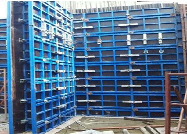 Rigid Steel Frame Formwork , Steel Framing System For Concrete Construction Wall